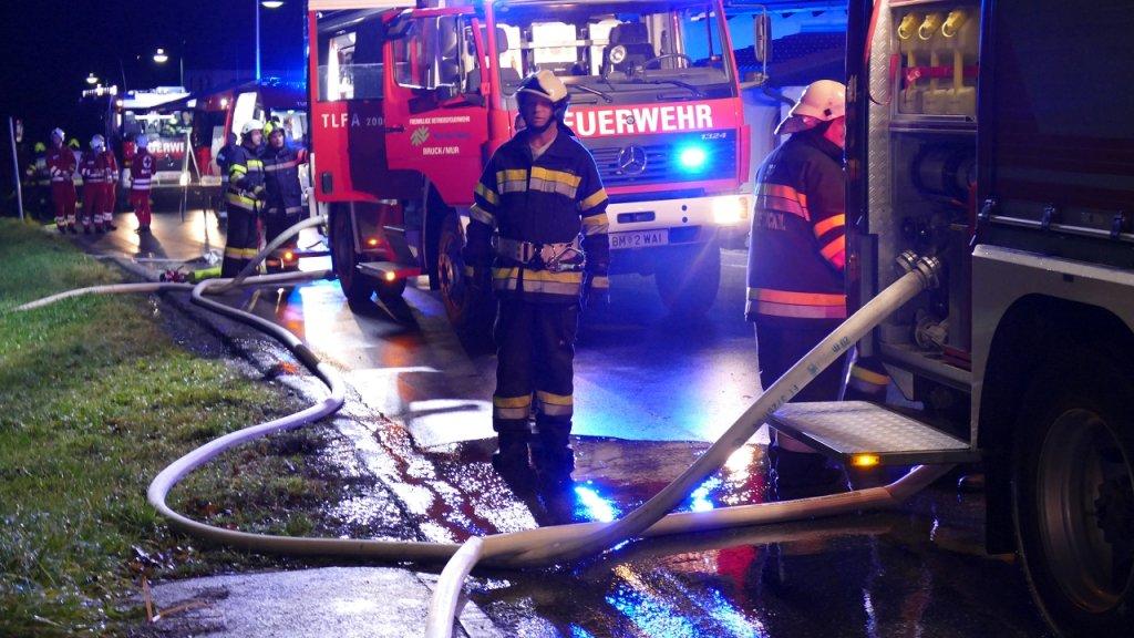 Brandeinsatz (Nachbarliche Hilfe) vom 08.11.2017     (C) BtF Norske Skog (2017)